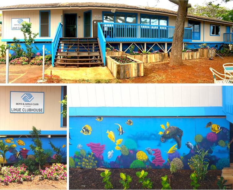 ocean mural COLLAGE