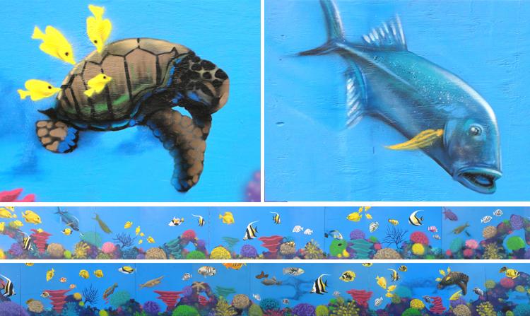 ocean mural COLLAGE2