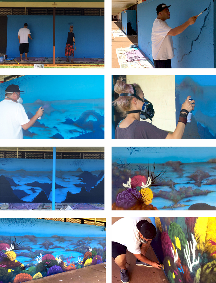 Building A mural stages FINAL